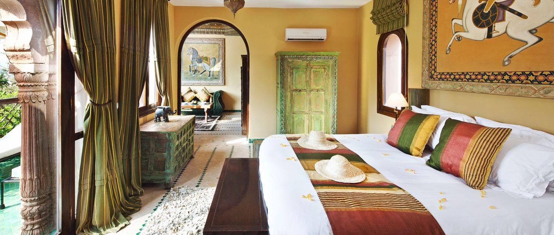 Kasbah Tamadot - Morocco - Bedroom