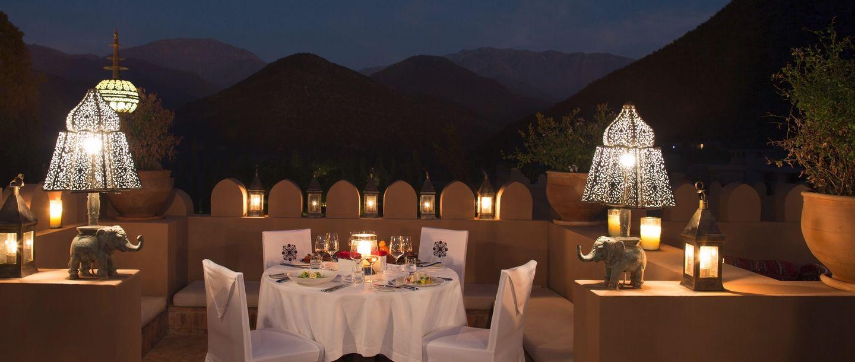 Kasbah Tamadot - Morocco - Dining
