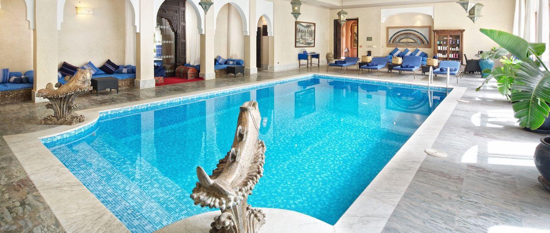 Kasbah Tamadot - Morocco - Indoor pool