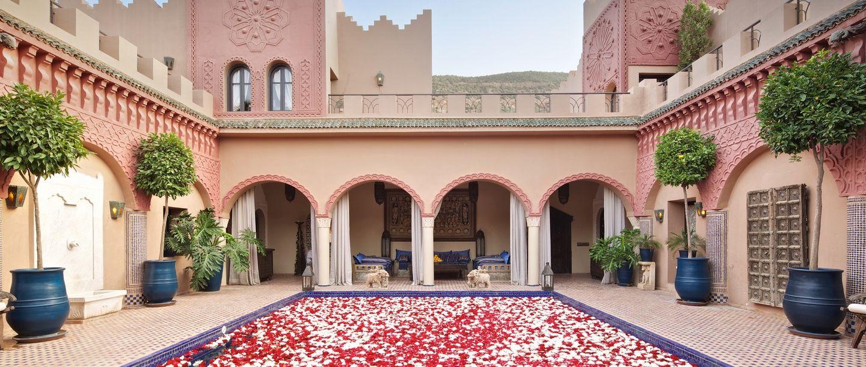 Kasbah Tamadot - Morocco - Patio