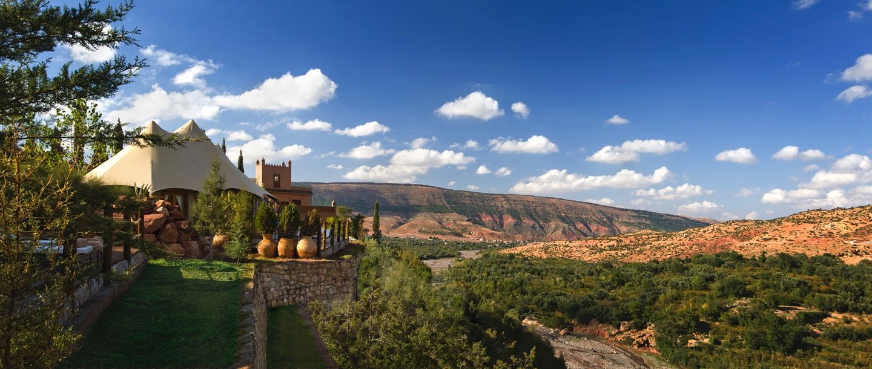 Kasbah Tamadot - Morocco - View