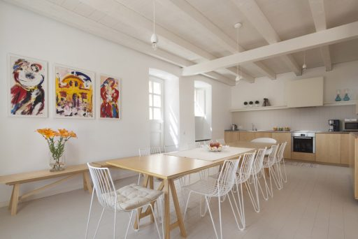 Villa Orti 9 Dining room and kitchen